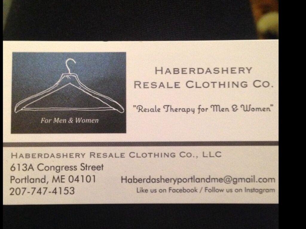 Haberdashery Resale Clothing Co.