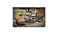 1942 Harley Davidson Wlc Bike Motorcycle A4 Photo Poster