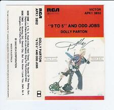 "DOLLY PARTON - ""9 TO 5"" AND ODD JOBS  *RARE CASSETTE TAPE*"