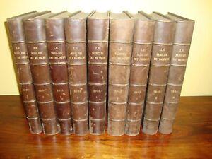 Lot Journal - LE MIROIR DU MONDE - Reliure - 1930 - 1931 - 1932 - 1933 - 1934
