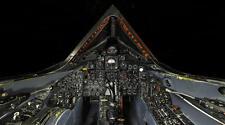 SR-71 BLACKBIRD COCKPIT SUPERSONIC JET POSTER PRINT 20x36 HIGH RES