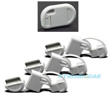 3X 30-PIN USB SYNC CHARGER FLIP KEYCHAIN CABLE WHITE IPHONE 4S 4 IPOD TOUCH IPAD