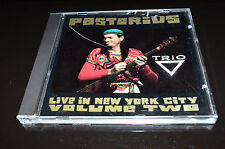 JACO PASTORIUS Live In New York City Volume Vol. 2 Trio CD 1991