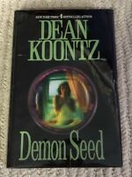 Demon Seed by Dean R Koontz 1997 hcdj AUTOGRAPHED To MARY Beware the Machines!!