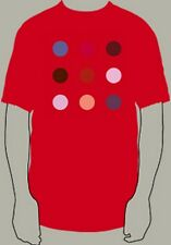 DAMIEN HIRST 'Bromphenol Red (Spot Painting)', 2008 Artist 'Spots' T-Shirt L NEW