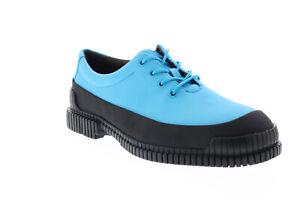 Camper Pix K100360-020 Mens Blue Leather Lace Up Casual Oxfords Shoes