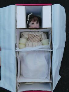 Marie Osmond Collectibles Series Vivian Heirloom-Gown 21-Inch Porcelain Doll