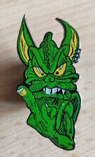 TANKARD extra large limited edition  alien enamel  pin