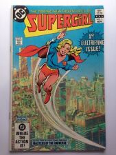 Supergirl # 1 DC Comics 1982 with He-Man Masters of the Universe Preview VF