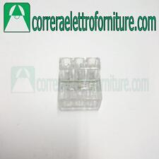 Morsetti per connessioni volanti e nodi equipotenziali 3 poli 1-6 mm2 BM 996