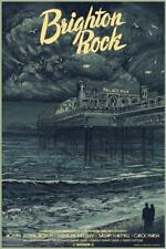 BRIGHTON ROCK LARGE FILM NOIR POSTER GRAHAM GREENE VINTAGE PIER LTD SCREEN PRINT
