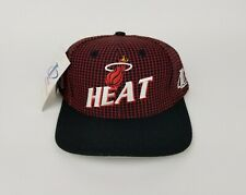 buy online 32323 389c2 New ListingYouth Miami Heat NBA Embroidered Black Cap