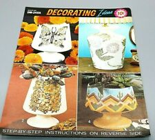 Duncan Ceramic DM - 248A Vase Instructions Vintage Decorating Ideas One Sheet
