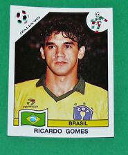 N°197 RICARDO BRESIL BRASIL PANINI COUPE MONDE FOOTBALL ITALIA 90 1990 WC WM