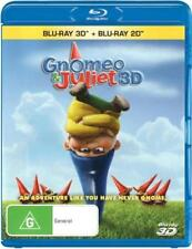 Gnomeo and Juliet [New & Sealed] 3D + 2D Blu-Ray - UK & EU