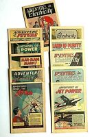 11 1947 General Electric Adventures in Science Comics MINT Marvel George Roussos