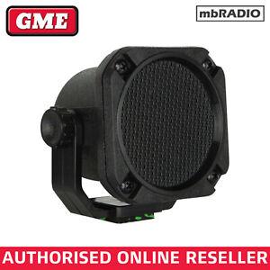 GME SPK45B WATER RESISTANT EXTENSION SPEAKER for HF, VHF, UHF, MARINE *FREEPOST*
