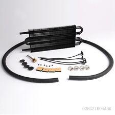 4 Row Aluminum Remote transmission Refroidisseur d'huile auto-Manuel Radiateur Kit BK