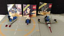 Lego 3 sets vintage classic space 6804, 6824, 6846 100% + instructions