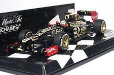 Lotus F1 E20 Raikkonen Winner Abu Dhabi Gp 2012 Minichamps 1:43 410120209 Model
