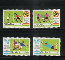 GHANA 1978  WORLD CUP  SOCCER  FOOTBALL   SET