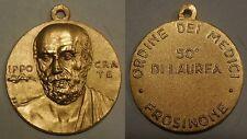 medaglia 50 anni di laurea ordine dei medici di Frosinone