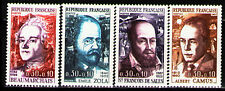 France 1967 ScB404-7 M1571-2,88-9 4v mnh Red Cross-Famous People