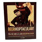 Beerhoptacular Craft Beer Tasting Aragon Ballroom 2010 Ticket Advertise Ephemera