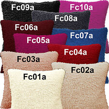 Fc - Curly Fleece Material Faux Sheep Skin Style Cushion Cover/Pillow Case