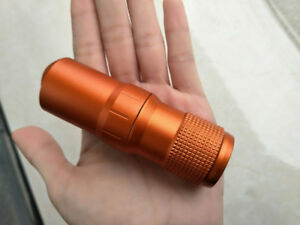 Outdoor Metal EDC Survival Waterproof Pill Case Box Container Bottle