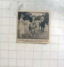 1960 Jane Oliver Wins Western Hunt Pony Club Gymkhana