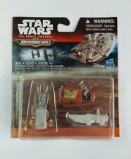 Star Wars The Force Awakens Micro Machines Vehicle 3-Pack: Speeder Chase MISB!!