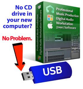 Pro Music Production-MultiTrack Audio Editing-Mixing-MIDI DAW Software-Beats EDM