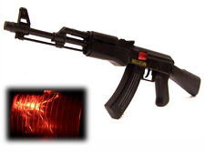 XXL ratter GIOCATTOLI FUCILE ak-47 Sound scintille mitra di luce 56 CM NUOVO