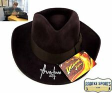 Harrison Ford Signed Indiana Jones Officially Licensed Brown Wool Fedora Hat