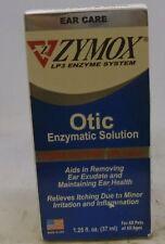 ZYMOX OTIC 1.25 fl.oz  1.0 % Hydrocortisone Dog Cat Ear Drops Solution Treatment