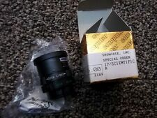 "NEW Computar Ganz High Quality CCTV Camera Lens T0812FICS 1/3""8mm f1.2 Monofocal"