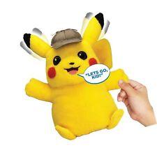 Pokémon Detective Pikachu Movie Interactive Talking Plush - 2 Voice Modes - 1.