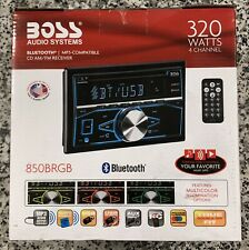 BOSS Audio Systems Bluetooth AM/FM Receiver with Aux Compatibility - 850BRGB