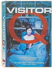 VISITOR Q  MEDIA BLASTERS & (8 Flavors of Fever Dreams) OOP - 2 DVD DISCS