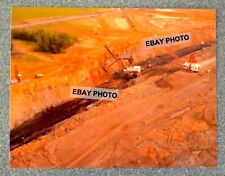 "New listing Vintage 8 1/2"" X 11"" Color Photo copy of Coal Mining Shovel & Dragline at work"