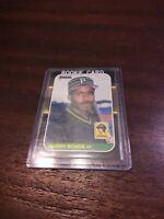 1987 Donruss 361 Barry Bonds rookie Pittsburgh Pirates