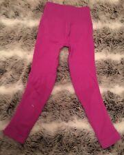 Lululemon Zone In Tight Size 2 Raspberry Pink Run Women's Athletic Wear