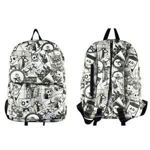The Nightmare Before Christmas Men nylon Backpack Women Laptop Casual Travel bag