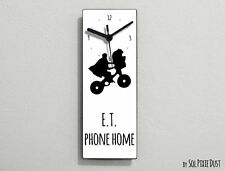 ET Extraterrestria - E.T. phone home - Wall Clock