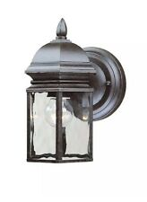 -4 PACK!!!- Hampton Bay Georgetown 4-Lights Outdoor Bronze Wall Lantern 249760
