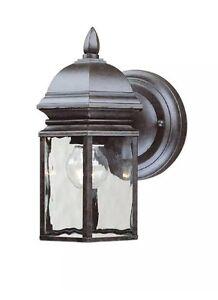 -4 PACK!!!- Hampton Bay Georgetown 4-Lights Outdoor Bronze Wall Lantern 249760