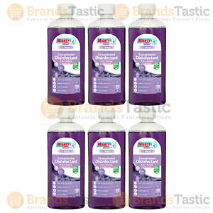 6 X AIRPURE MIGHTY BURST CONCENTRATED DISINFECTANT PURPLE RAIN ANTIBAC 240ML