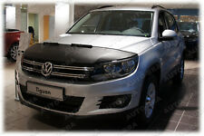 Silber CARBON BRA VW Tiguan Bj ab 2016 Steinschlagschutz Tuning