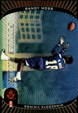1998 UD3 Football Card #197 Randy Moss FR Rookie